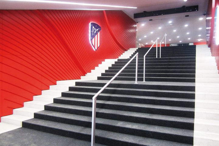 Tunel atletico de madrid